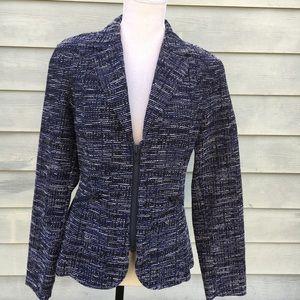 CAbi Zip Up Mingle Textured Blazer - Style #723